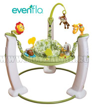 Игровой центр Evenflo ExerSaucer Jump & Learn Wild Adventure 61711608 NEW!