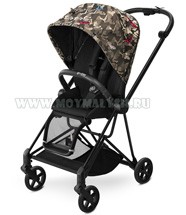 Детская коляска Cybex Mios Black Butterfly NEW!