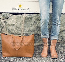 Сумка Elodie Details Chestnut Leather NEW!
