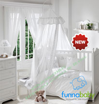 Балдахин Funnababy Lovely Bear White