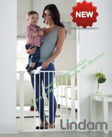 Барьер Lindam Easy Fit Plus Deluxe 75-82 см 051298 NEW!