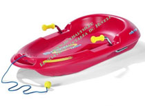 Санки Rolly Snow Max red 200115 NEW!