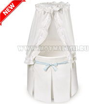 Колыбель Shapito by Giovanni Solo White Blue NEW! + ПЛЕД В ПОДАРОК!