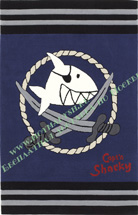 Ковер Böing Carpet Capt'n Sharky 2937-0119 NEW!