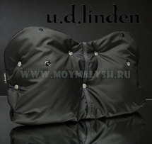 Муфта для рук на коляску U.D.Linden Black Fleece NEW!